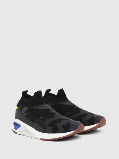 Diesel - S-KB SOCK QB, Nero - Sneakers - Image 2