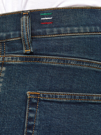 Diesel - D-Strukt 0093J, Blu Scuro - Jeans - Image 5