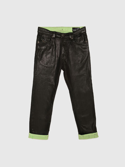 Diesel - MHARKY-J JOGGJEANS, Nero/Verde - Jeans - Image 1