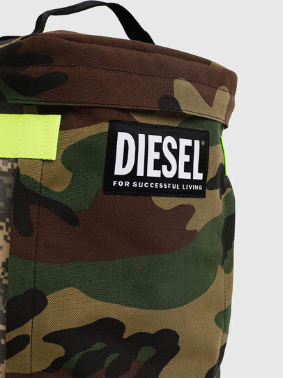 Diesel - PIEVE, Verde Camo - Zaini - Image 4