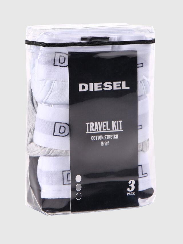 Diesel - UMBR-ANDRETHREEPACK, Bianco - Slip - Image 2