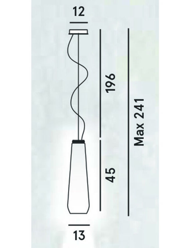 Diesel - GLAS DROP, Grigio - Lampade a Sospensione - Image 2