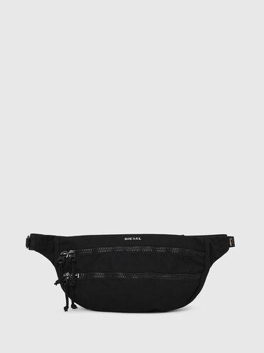 Belt bag con zip e tracolla