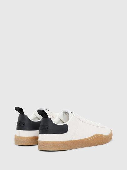 Diesel - S-CLEVER PAR LOW, Bianco/Nero - Sneakers - Image 3