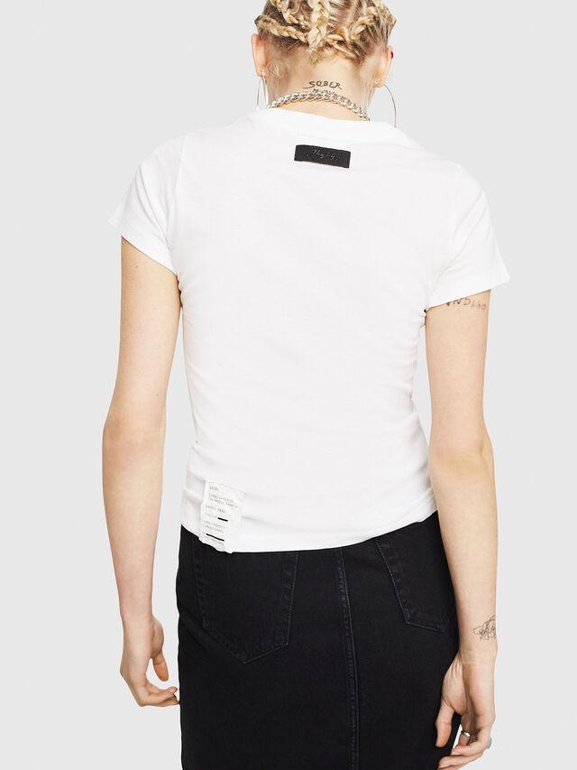 Diesel - T-SUPERY-C, Bianco - T-Shirts - Image 2