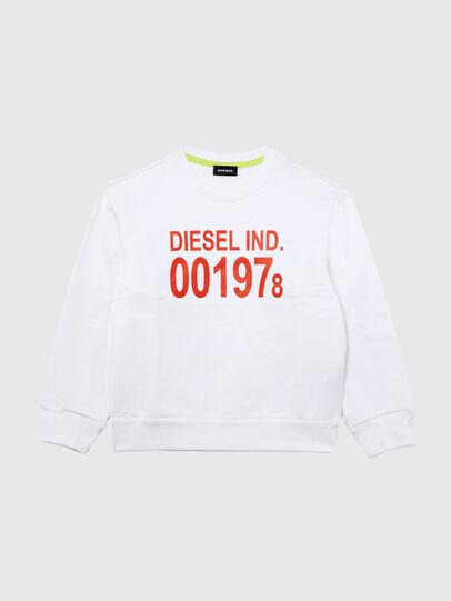 Diesel - SGIRKJ3 OVER, Bianco - Felpe - Image 1