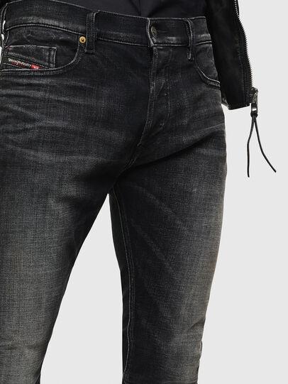 Diesel - Tepphar 0098B, Nero/Grigio scuro - Jeans - Image 3