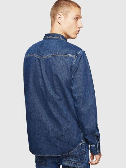Diesel - D-EAST-P, Blu medio - Camicie in Denim - Image 2