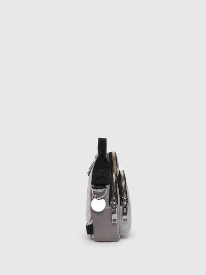 Diesel - LEDYBAG, Grigio - Borse a tracolla - Image 3