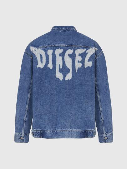 Diesel - D-RAF, Blu medio - Giacche in denim - Image 2