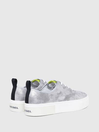 Diesel - S-VANEELA LC, Argento - Sneakers - Image 3