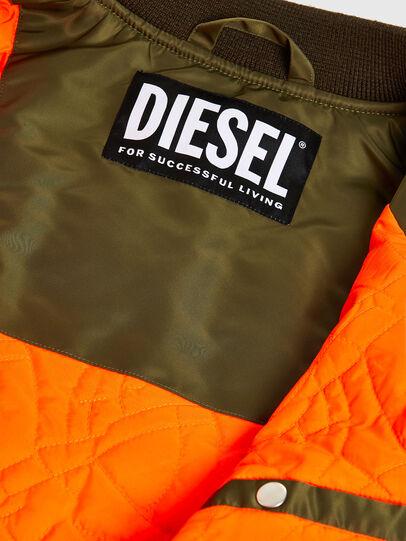 Diesel - J-UPPER, Verde Oliva - Giacche - Image 6