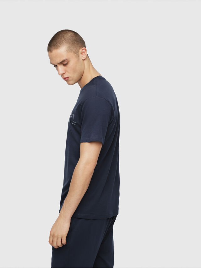 Diesel - UMLT-JAKE, Blu Notte - T-Shirts - Image 3