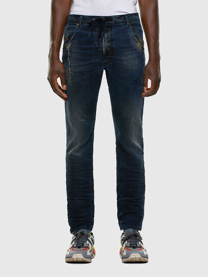 Diesel - Krooley JoggJeans 069NP, Blu Scuro - Jeans - Image 1
