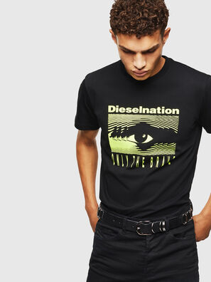 T-DIEGO-J4, Nero - T-Shirts
