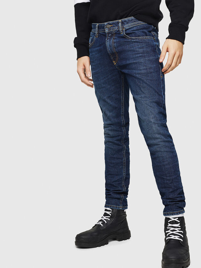 Diesel - Thommer 0890E, Blu medio - Jeans - Image 1