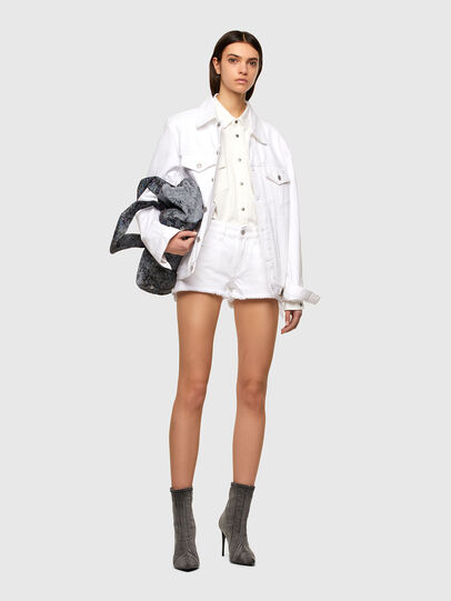 Diesel - DE-RIFTY, Bianco - Shorts - Image 5