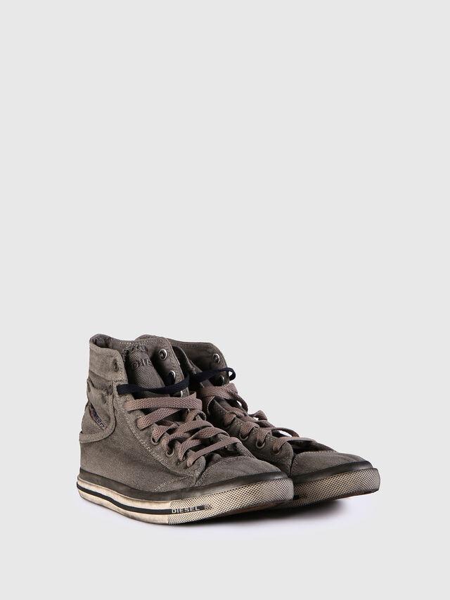 Diesel - EXPOSURE IV W, Grigio Jeans - Sneakers - Image 2