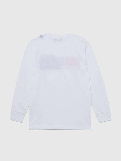 Diesel - TDIEGOCUTY ML, Bianco - T-shirts e Tops - Image 2