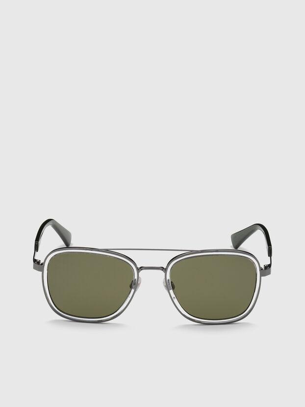 DL0320, Verde - Occhiali da sole