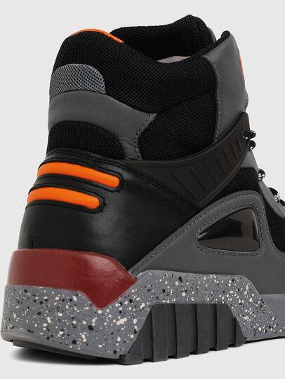 Diesel - S-RUA SP, Grigio scuro - Sneakers - Image 4