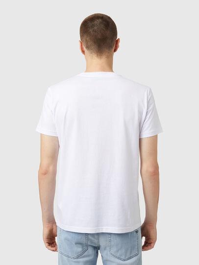 Diesel - T-DIEGOS-B5, Bianco - T-Shirts - Image 2