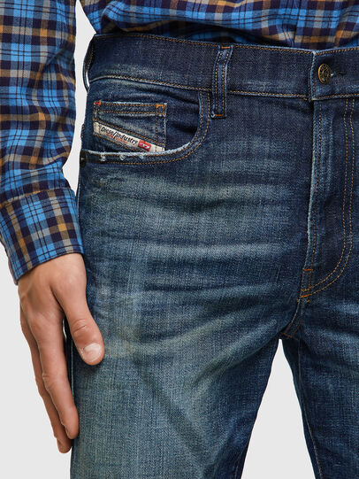 Diesel - D-Amny 09A27, Blu Scuro - Jeans - Image 4