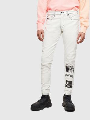 D-Strukt 009BF, Bianco - Jeans