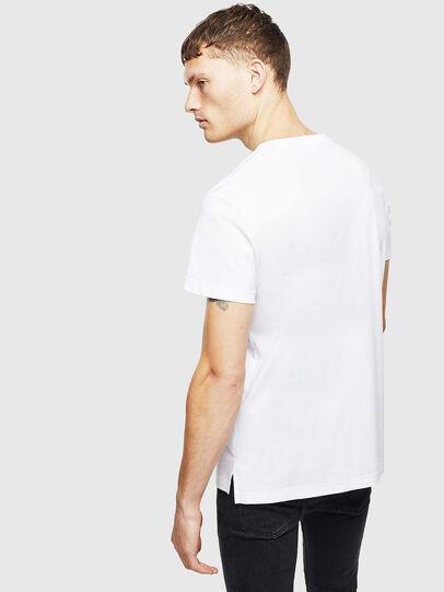 Diesel - T-GROSSI, Bianco - T-Shirts - Image 2