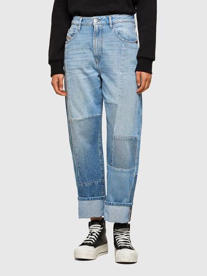 Diesel - D-Reggy 009ND, Blu Chiaro - Jeans - Image 1
