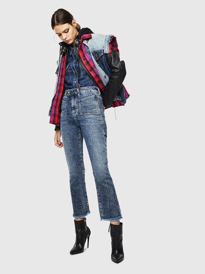 Diesel - D-Earlie 0098W, Blu medio - Jeans - Image 7