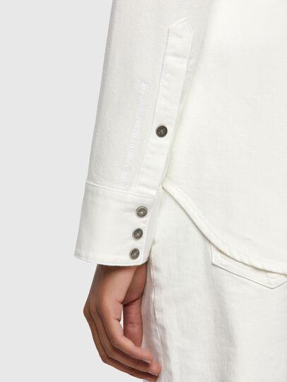 Diesel - DE-RINGY, Bianco - Camicie in Denim - Image 3
