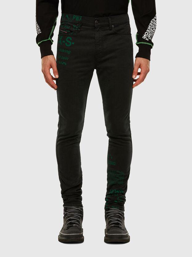 D-Reeft JoggJeans 009HD, Nero/Grigio scuro - Jeans