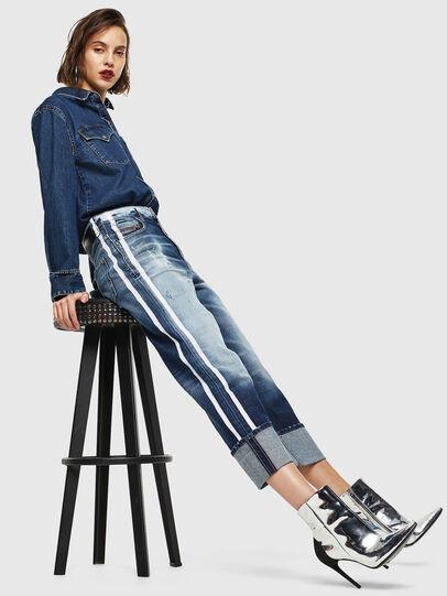 Diesel - D-Reggy 0096S, Blu medio - Jeans - Image 7