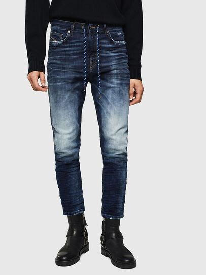 Diesel - D-Vider JoggJeans 069KD, Blu Scuro - Jeans - Image 1