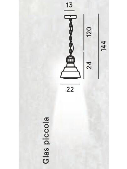 Diesel - GLAS PICCOLA, Argento - Lampade a Sospensione - Image 2