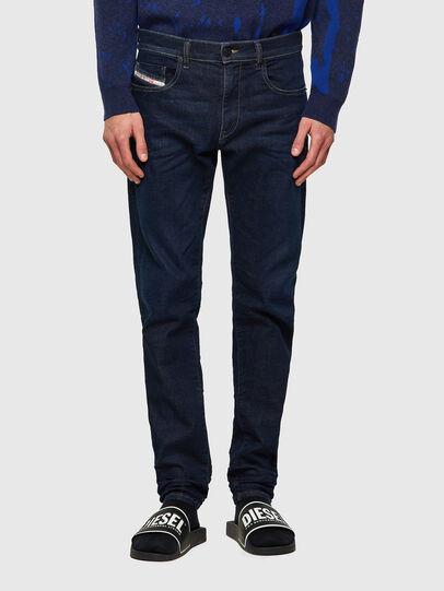 Diesel - D-Strukt JoggJeans® Z69VI, Blu Scuro - Jeans - Image 1