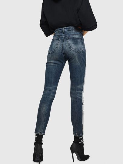Diesel - Babhila High 069HN, Blu Scuro - Jeans - Image 2