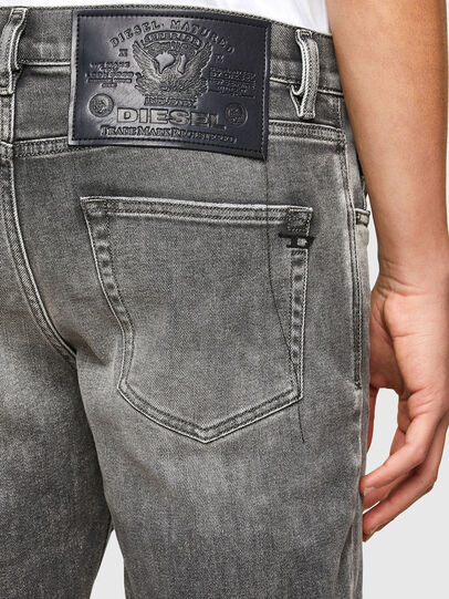 Diesel - D-Strukt 009MY, Grigio Chiaro - Jeans - Image 3