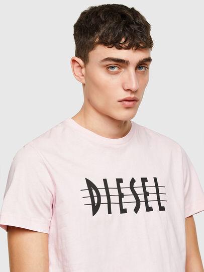 Diesel - T-DIEGOS-E34, Cipria - T-Shirts - Image 3