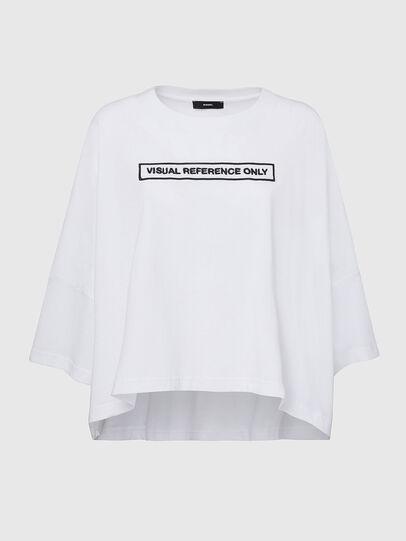 Diesel - T-CRAMBLE, Bianco - T-Shirts - Image 1