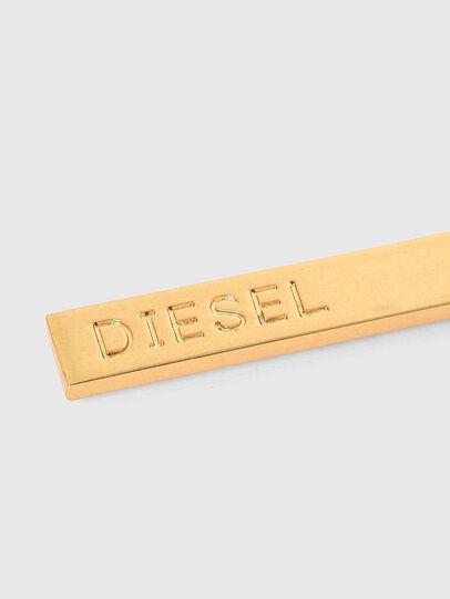 Diesel - GUNNER, Oro - Bijoux e Gadget - Image 4