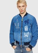 D-BAK, Blu Jeans - Giacche in denim
