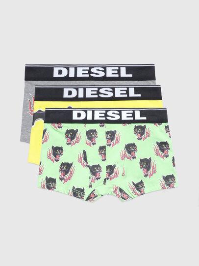 Diesel - UMBX-UDAMIENTHREEPAC, Verde/Grigio - Underwear - Image 1