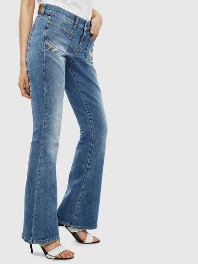 Diesel - D-Ebbey 0099M, Blu medio - Jeans - Image 4