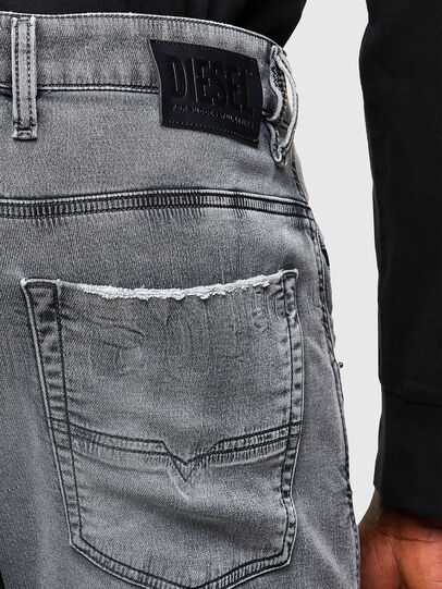 Diesel - Krooley JoggJeans® 069SN, Grigio Chiaro - Jeans - Image 4