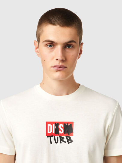 Diesel - T-DIEGOS-B10, Bianco - T-Shirts - Image 3