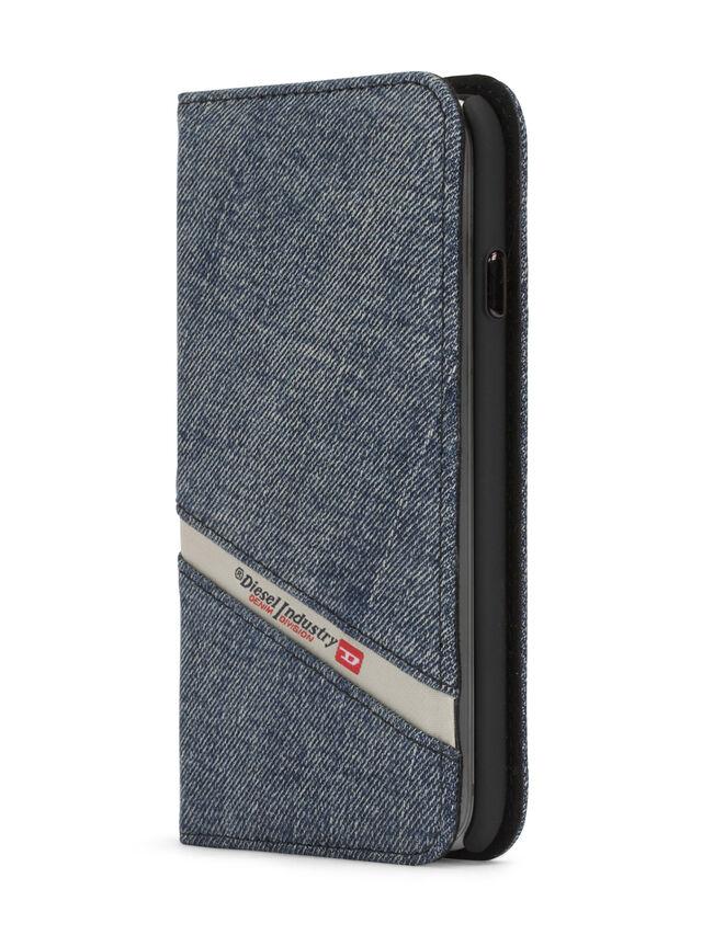 Diesel - DENIM IPHONE 8/7 FOLIO, Blu Jeans - Cover a libro - Image 3