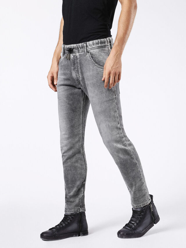 KROOLEY JOGGJEANS 0855B, Grigio Jeans