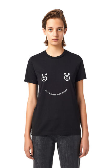 T-shirt Green Label con smile